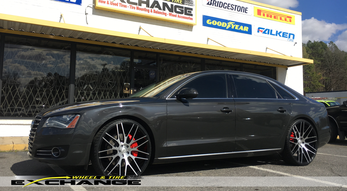 Wheel Amp Tire Exchange Audi A8 24 Staggered Offset