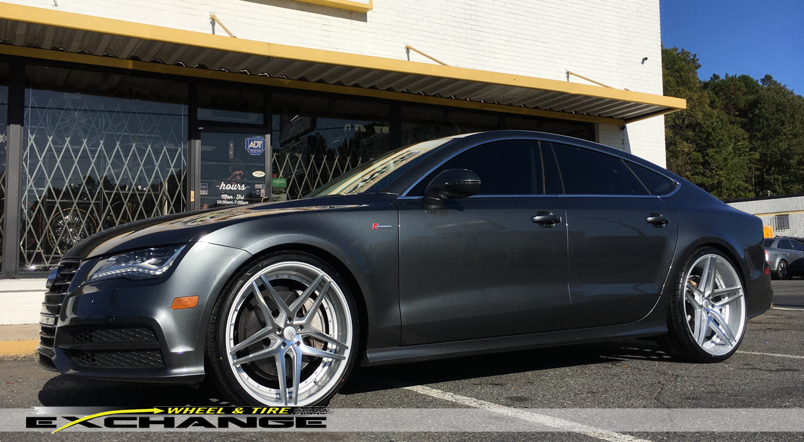 Wheel Amp Tire Exchange Audi A7 22 Rosso Staggered