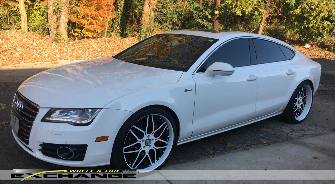 Wheel Amp Tire Exchange Audi A7 Asanti Staggered