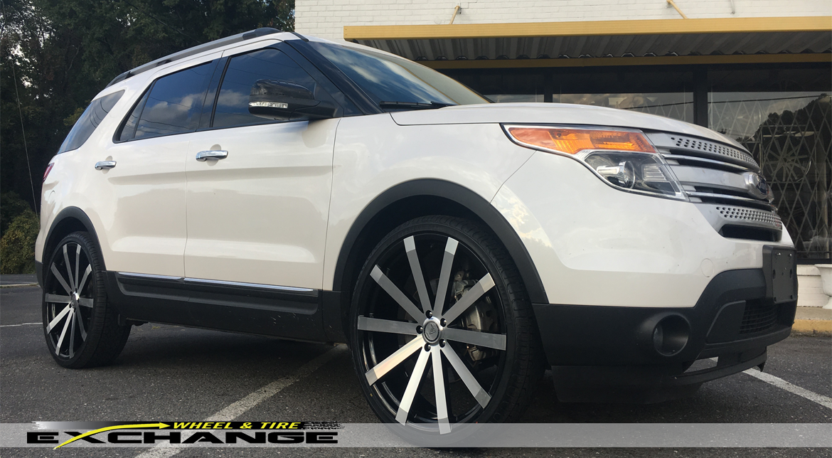 Wheel & Tire Exchange | FORD EXPLORER 24″